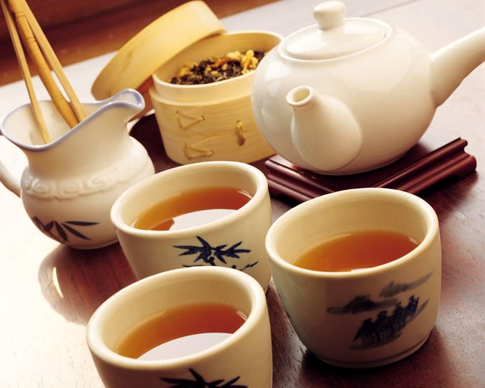 bộ trà bát tràng