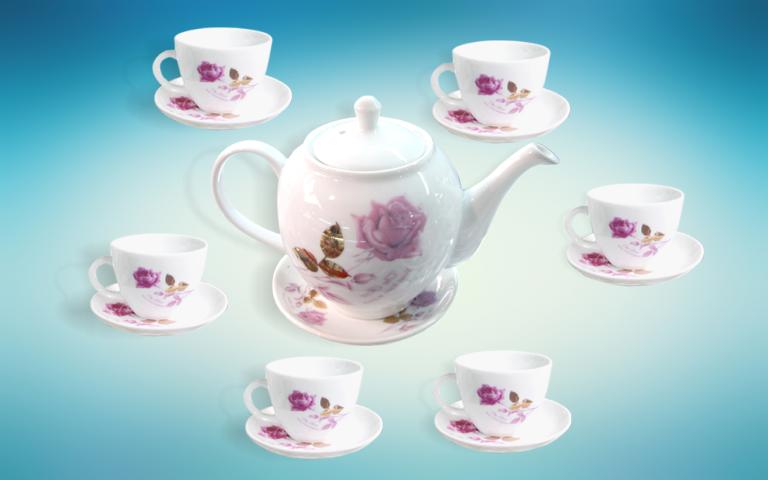bộ trà Bát Tràng là sản phẩm quà tặng được ưa chuộng